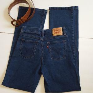 Levis 512 jeans